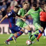 Liga Santander: Levante reacciona y respira aplicándole una goleada (4-0) al Betis