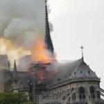 Voraz incendio se propaga en emblemática catedral de Notre Dame (VIDEO)