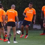 Paolo Guerrero formó parte de la práctica del 'colorado' para el partido de mañana