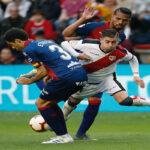 Liga Santander: Rayo Vallecano y Huesca empatan 0-0 y se complican con la baja