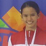 Nadadora Alexia Sotomayor logra segunda medalla de oro para Perú en Sudamericano