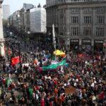 Reino Unido: Tras una semana de marchas ambientalistas cierran protesta con bloqueos (VIDEO)