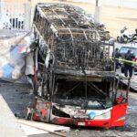 Sutran paraliza actividades de empresa Sajy, tras incendio (VIDEOS)