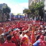 Venezuela: PSUV llama a movilización para celebrar salida del país de la OEA