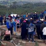 La Libertad: Derrumbe en mina artesanal deja ocho trabajadores muertos