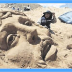 Esculturas en arena: Artistas peruanos y bolivianos recrean un pasaje de la Biblia