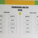 Juegos Panamericanos 2019: FPF realizó el sorteo de grupos de fútbol