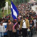 Pese a las amenazas de Trump centenares de hondureños parten a frontera de EEUU (VIDEOS)