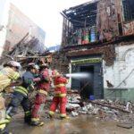 Indeci: Incendio en Mesa Redonda fue extinguido al 90% (VIDEO)