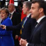 Merkel y Macron chocan en cumbre de la UE por condiciones de segunda prórroga del Brexit