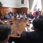 Congreso: Junta de Portavoces se reunirá este lunes