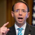 """EEUU: Renunció el VicefiscalGeneralRod Rosenstein, """"número dos"""" del Departamento de Justicia"""