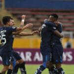 Copa Sudamericana: Universidad Católica ecuatoriana en partido de ida golea 6-0 a Melgar