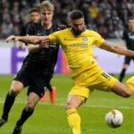 Europea League: Eintracht y Chelsea igualan 1-1 y todo se resuelve en Stamford Bridge