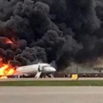 Rusia: Confirman 41 pasajeros muertos en avión que se incendió en aterrizaje (Videos)