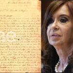 Argentina: Ex presidenta Cristina Fernández a juicio por carta de San Martín que le regaló Putin (VIDEO)