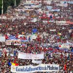Día del Trabajo: Cerca de un millón marchan en La Habana contra EEUU (Fotos)