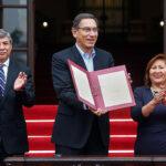 """Vizcarra: """"Unidos sacaremos la reforma política y judicial"""" (VIDEO)"""