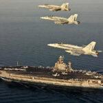 EEUU envía portaviones y bombarderos hacia costas de Irán