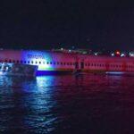 Un avión se sale de la pista y acaba en un río en Florida, sin heridos graves (video)
