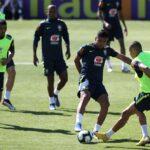 Copa América: Brasil realiza su primer entrenamiento parcialmente secreto (FOTOS)