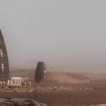 Construyen un modelo de vivienda para los colonizadores de Marte (video)