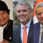 Cumbre Presidencial Andina: Presidentes de Bolivia, Colombia y Ecuador vienen a Lima