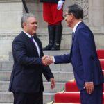 Vizcarra se reunió con mandatario de Colombia, Iván Duque (FOTOS)