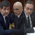 Políticos catalanes presos podrán acreditarse como parlamentarios