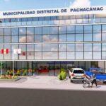 Manchay: Inician construcción de moderno palacio municipal de Pachacámac