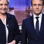 Francia: Partido de Le Pen superó al de Macron por nueve décimas en elecciones europeas