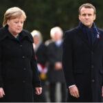 """Angela Merkel reconoció que su relación con el presidente francés Macron es """"conflictiva"""""""