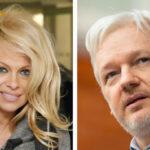 Pamela Anderson visitó a Julian Assange en la cárcel y pidió a seguidores unirse para salvarlo (VIDEO)