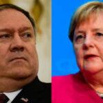 Suspenden la reunión del martes entre Pompeo y Merkel que iba a tratar sobre la crisis de Irán