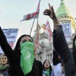 Argentina: Marcha de mujeres llegó al Congreso exigiendo nuevo proyecto de aborto legal