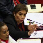Congreso: Luz Salgado dice que Ejecutivo rompió diálogo