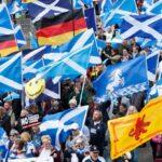Miles de personas demandan en Escocia nuevo referéndum de independencia