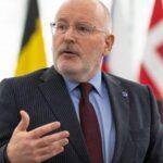 Timmermans dice que existe la posibilidad de una alianza progresista en la Eurocámara