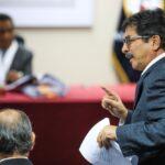 PJ dictó comparecencia restringida contra Enrique Cornejo