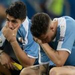 Luis Suárez lloró desconsolado por el penal errado ante los peruanos