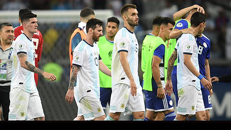 Resultado de imagen para argentina 1 paraguay 1