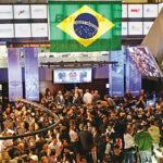 Bolsa de Sao Paulo sube un 1.23% y cierra con nuevo récord su índice Ibovespa