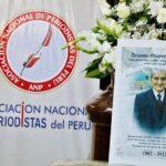 ANP despidió al compañero periodista Ernesto Chávez Álvarez