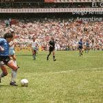 Hace 33 años Diego Armando Maradona anotó el mejor gol de la historia (Video)