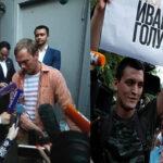 Rusia: Gobierno libera tras inédita movilización social al periodistaIván Golunov