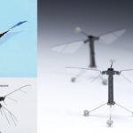 RoboBee X-Wing:Diseñan un pequeño robot inspirado en un insecto volador
