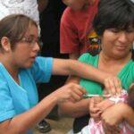 Minsa inició vacunación casa por casa contra sarampión, rubeola y polio