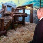 Presidente chino Xi Jinping regala a Vladimir Putin dos osos panda