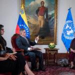 Venezuela: Gobierno dice a Bachelet que sanciones son la causa de la crisis