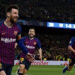 El gol de falta de Lionel Messi al Liverpool, el mejor de la Champions